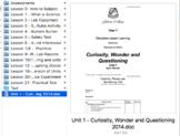 Curiosity, Wonder and Questioning - Intro Science Unit [AUSTRALIAN CURRICULUM]