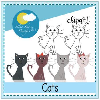 Curious Cat Clipart