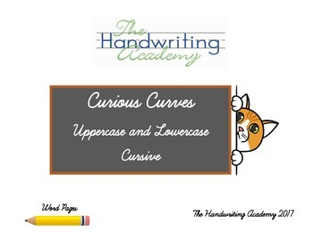 Curious Curves: Cursive Handwriting