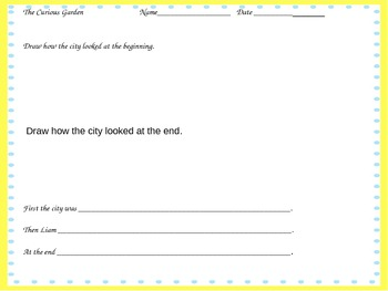 Curious Garden Comprehension Questions