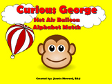 Curious George Alphabet Matching Game
