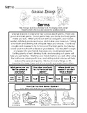 Curious George Discovers Germs - Worksheet Set