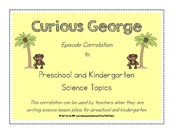 Curious George Episode Correlation for Science