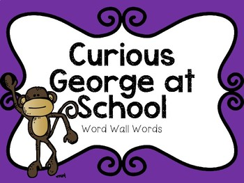 Curious George Goes To School PowerPoint