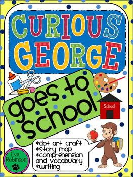 Curious George Goes To School Worksheets & Teaching Resources | TpT | 350x263