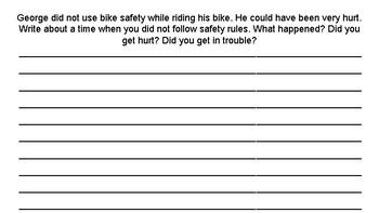 Curious George Rides a Bike