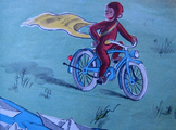 Curious George Rides a Bike by H.A. and Margaret Rey