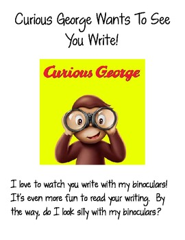 Curious George Takes a Trip Home with Your Students (GREAT for Kdg Age)