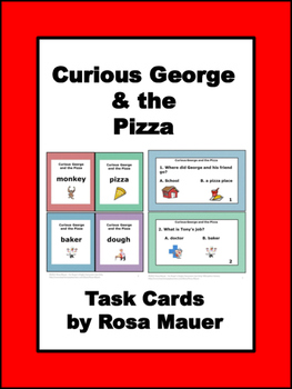 Curious George Pizza