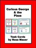 Curious George and the Pizza Distance Learning School or Home Reading Activity