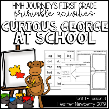 Curious George at School: Journeys 1st Grade (Unit 1, Lesson 3)
