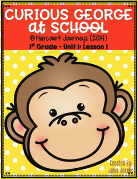Curious George at School (Journeys 1st - Supplemental Materials)