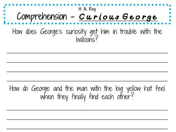 Curious George by H. A. Rey: A Complete Literature Study!