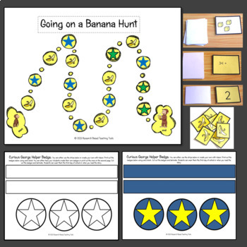 Curious George's First Day of School Literacy and Math Center Activities!