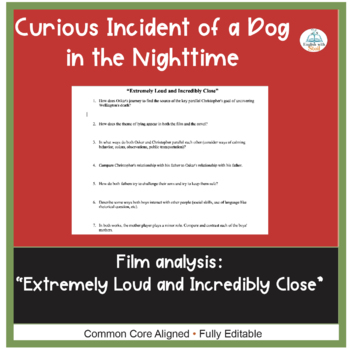 Curious Incident of a Dog in the Nighttime Film Comparison Analysis