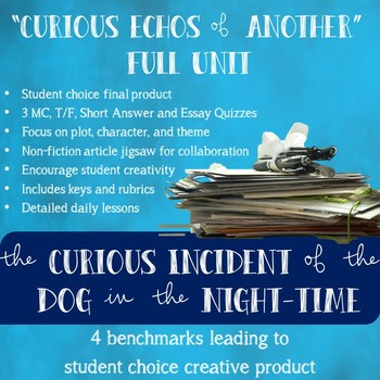 The Curious Incident of the Dog in the Night-time Full Unit (PBL)