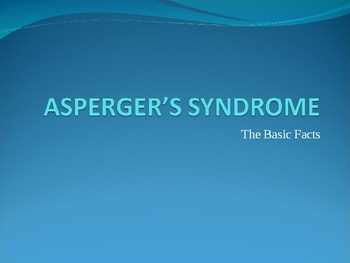 Curious Incident of the Dog in the Nighttime - Asperger's powerpoint