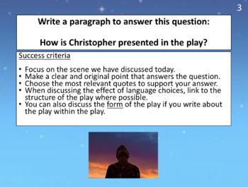 Curious Incident (play) - how does the writer create empathy for Christopher?