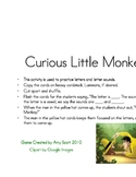 Curious Little Monkey Alphabet Practice Game!