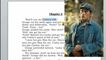 Curley's Wife Podcast - Of Mice and Men
