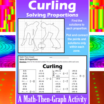 Curling - A Math-Then-Graph Activity - Solving Proportions