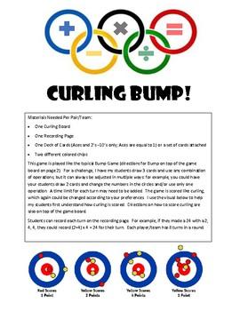 Math Olympics Curling BUMP!