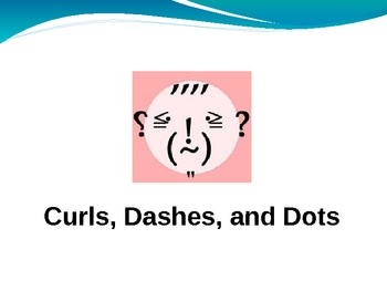 Curls, Dashes, and Dots: Punctuation Rules