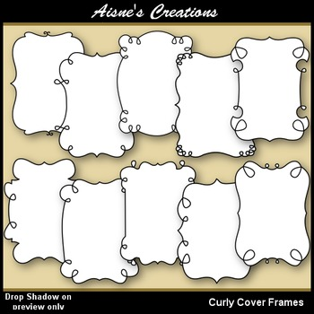 Curly Cover Frame