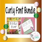 Curly Font Bundle