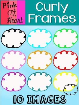 Curly Frames FREEBIE