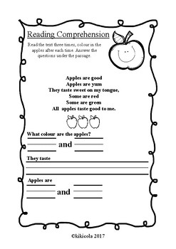 Curly Group reading comprehension and more