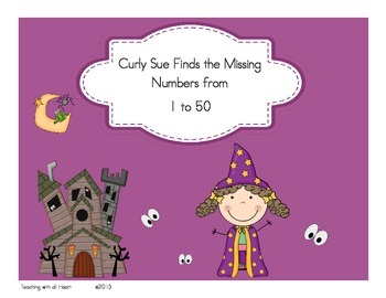 Curly Sue Finds the Missing Numbers from 1 to 50