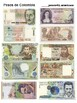 Currencies of Spanish speaking countries and conversion practice