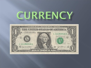 Currency Powerpoint