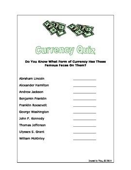 Currency Quiz
