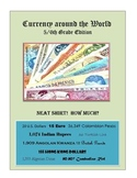 Currency around the World 5/6th Grade Edition