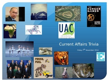 Current Affairs Trivia 07/11/2014