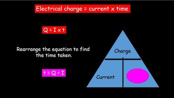 Current, Charge and Energy - electrical circuits
