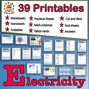 Current Electricity - 39 Worksheets/Homeworks