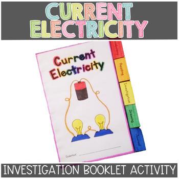 Current Electricity Investigation Tabbed Booklet
