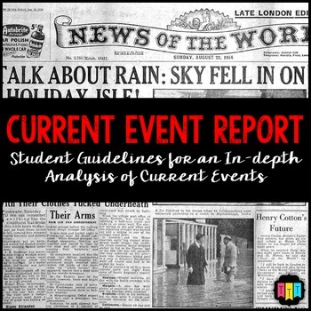 Current Event Analysis & Report