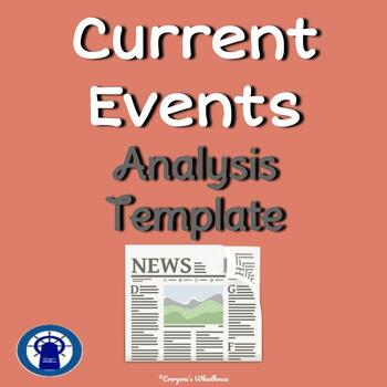 Current Event Analysis Template