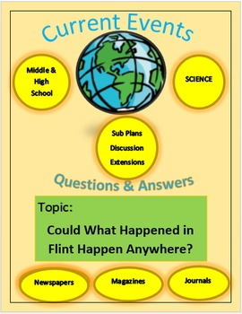 Current Events Science:Could What Happened in Flint Happen