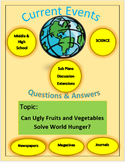 Current Events Science: Can Ugly Fruits and Vegetables Sol