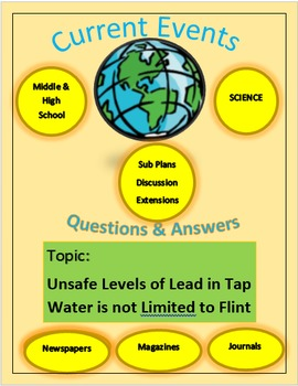 Current Events Science:Unsafe Levels of Lead in Tap Water, not Limited to Flint