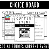 Current Event Choice Board