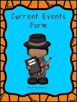 Current Event Form