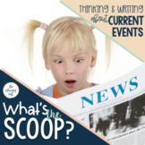 Current Event Newspaper Assignment I Google Slides and Print