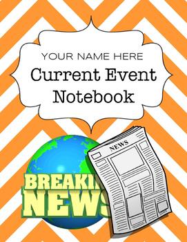 Current Event Notebook - Digital Notebook