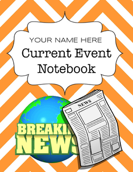 Current Event Notebook - Digital Notebook